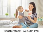 happy mother's day  child... | Shutterstock . vector #626684198