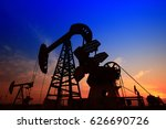 the oil pump  industrial... | Shutterstock . vector #626690726