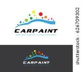 car paint   automotive icon ... | Shutterstock .eps vector #626709302