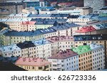 Aerial Panorama Of Helsinki ...