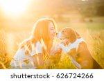 teen girl having fun with... | Shutterstock . vector #626724266