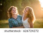 teenage daughter having a great ...   Shutterstock . vector #626724272