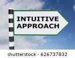 "3d illustration of ""intuitive... | Shutterstock . vector #626737832"