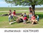 kazakhstan  shymkent   april 23 ... | Shutterstock . vector #626754185