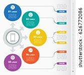business presentation concept... | Shutterstock .eps vector #626772086