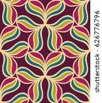 seamless pattern morrocan... | Shutterstock .eps vector #626776796