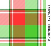 abstract madras seamless... | Shutterstock .eps vector #626783816