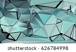 abstract geometric background... | Shutterstock .eps vector #626784998
