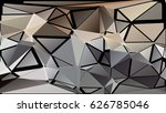 abstract geometric background... | Shutterstock .eps vector #626785046