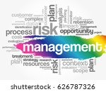 management word cloud collage ... | Shutterstock .eps vector #626787326