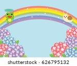 image of the rainy season. | Shutterstock .eps vector #626795132