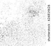 black grainy texture isolated... | Shutterstock .eps vector #626814626