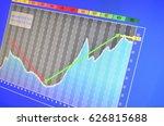 analyze screen | Shutterstock . vector #626815688