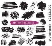 set of hand drawn design... | Shutterstock .eps vector #626821502