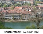 Small photo of Bern, Switzerland the Yarra River (Aare river)