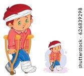 vector illustration of a little ...   Shutterstock .eps vector #626839298
