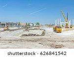 heavy earthmover construction... | Shutterstock . vector #626841542