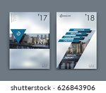 abstract a4 brochure cover... | Shutterstock .eps vector #626843906