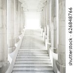 ancient marble columns and... | Shutterstock . vector #626848766
