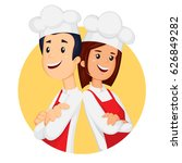 Young Professional Chefs With...