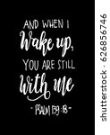 you are still with me on white... | Shutterstock .eps vector #626856746