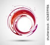 abstract wave. vector   Shutterstock .eps vector #626859986