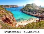 calo des moro  mallorca  spain | Shutterstock . vector #626863916