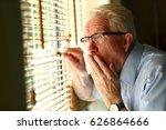 nosy neighbour checking on his... | Shutterstock . vector #626864666