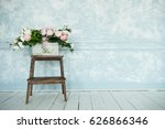 spring decor and flower...   Shutterstock . vector #626866346
