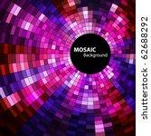 Round Mosaic Banner