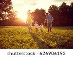 happy young children with... | Shutterstock . vector #626906192