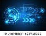 vector abstract background... | Shutterstock .eps vector #626915312