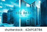 concept of big data... | Shutterstock . vector #626918786
