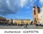 krakow  poland   april 23  2017 ... | Shutterstock . vector #626950796