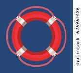 vector flat marine icon.... | Shutterstock .eps vector #626962436