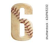 baseball seams themed bold... | Shutterstock . vector #626965232