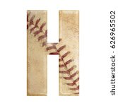 baseball seams themed bold... | Shutterstock . vector #626965502