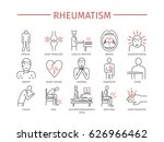 rheumatism symptoms  treatment. ... | Shutterstock .eps vector #626966462