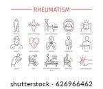 rheumatism symptoms  treatment. ... | Shutterstock .eps vector #626966462