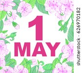 1 may flowers | Shutterstock .eps vector #626970182