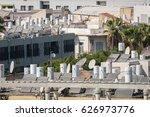 tel aviv   jaffa  israel.... | Shutterstock . vector #626973776