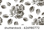 seamless pattern with dotted... | Shutterstock .eps vector #626980772