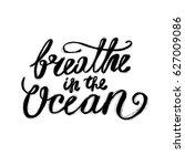 hand lettering inspirational... | Shutterstock .eps vector #627009086