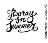 hand lettering inspirational... | Shutterstock .eps vector #627009092