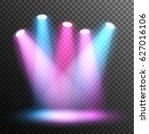scene illumination. stage.... | Shutterstock .eps vector #627016106