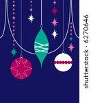 vector background of decorative ... | Shutterstock .eps vector #6270646