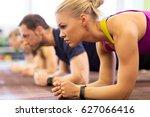 fitness  sport  exercising ... | Shutterstock . vector #627066416