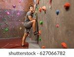 fitness  extreme sport ... | Shutterstock . vector #627066782