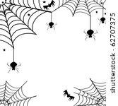 spider web | Shutterstock . vector #62707375