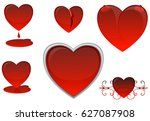 love  blood and divorce on a... | Shutterstock . vector #627087908